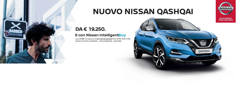 E' arrivato il nuovo Nissan Qashqai