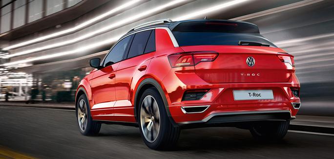 Volkswagen T-ROC tua da €189 al mese