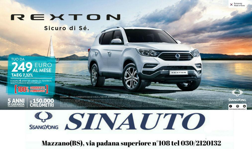 Scopri da Sinauto il nuovo #rexton!