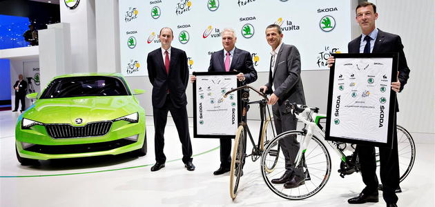 ŠKODA è partner ufficiale del Tour de France