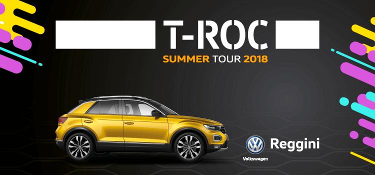 T-Roc Summer Tour 2018
