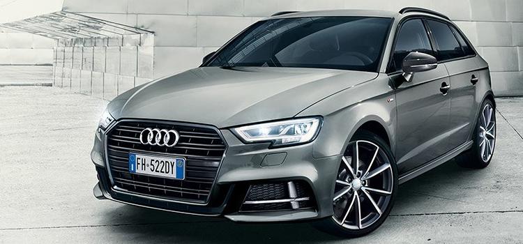 Audi A3 Sportback. In promozione con leasing e noleggio lungo termine.