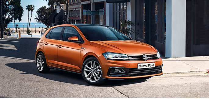 Volkswagen Polo 1.0 EVO Business Trendline da €219 al mese