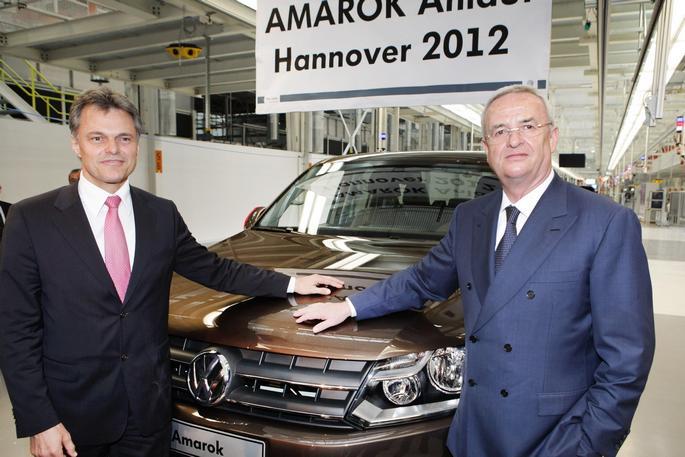 Inaugurata la produzione del pick-up Amarok nello  stabilimento Volkswagen di Hannover