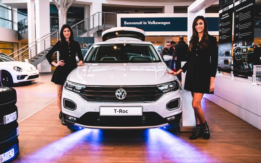 20 gennaio 2018 - Presentata a tutto volume la nuova T_Roc Volkswagen
