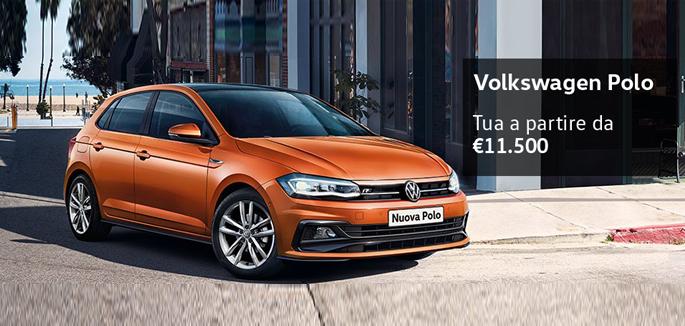 Volkswagen Polo tua a partire da €11.500