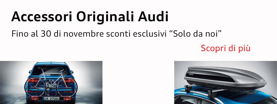 Accessori Audi Promozione