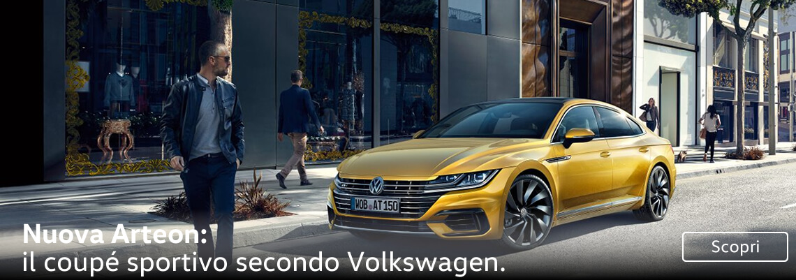 Nuova Arteon: il coupé sportivo secondo Volkswagen