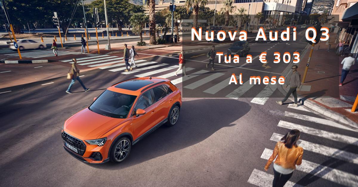 Nuova Audi Q3 tua in pronta consegna!