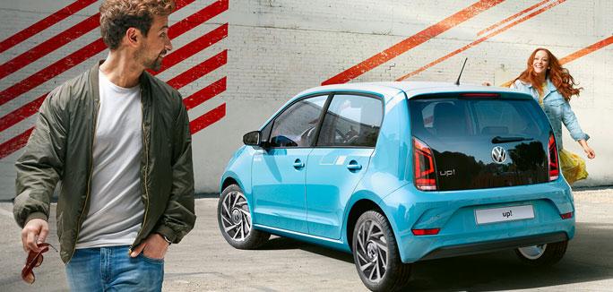Volkswagen up! tua da €149 al mese