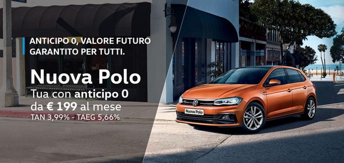 Volkswagen Polo per Neopatentati a partire da €199