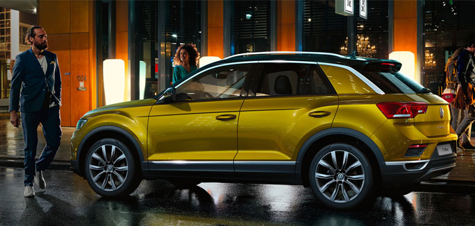 Volkswagen T-ROC tua da €249 al mese