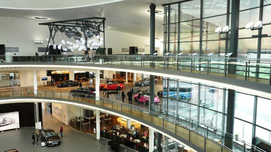11-12 maggio 2014 –  Visita dello stabilimento Audi di Neckarsulm (D)