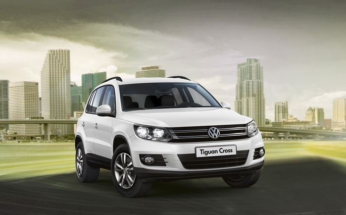 La Tiguan Cross protagonista in TV
