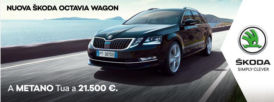 SKODA OCTAVIA WAGON METANO A 21.500 €