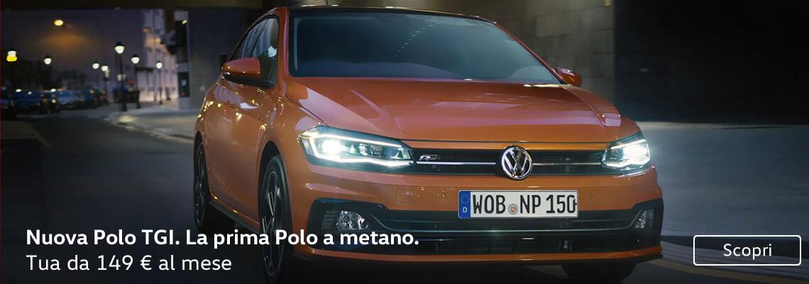 Nuova Polo TGI. La prima Polo a metano.