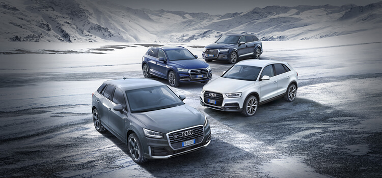 Vieni a conoscere la Gamma Q.  Arrivano gli Audi Q Days.