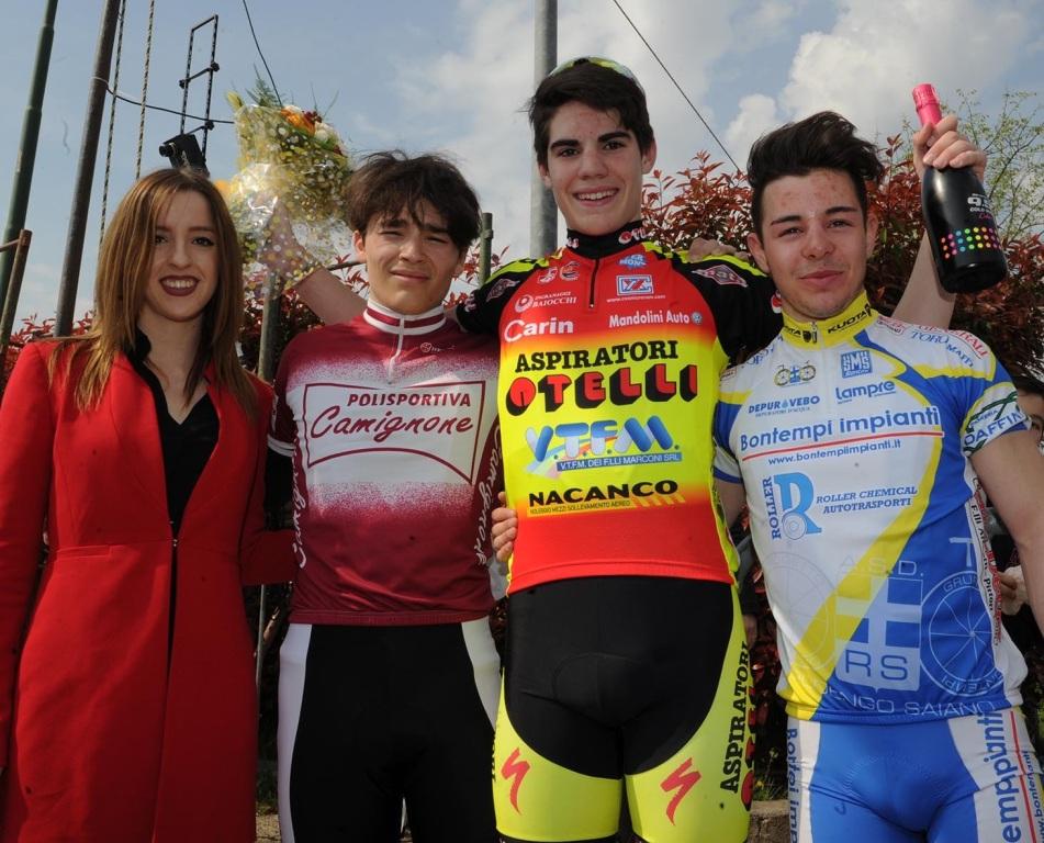 3 aprile 2017 – Iniziata alla grande la stagione di ciclismo della Otelli sostenuta ancora da Mandolini Auto