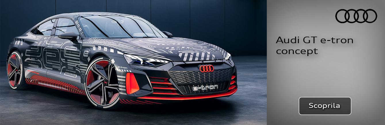 Nuova Audi GT e-tron concept