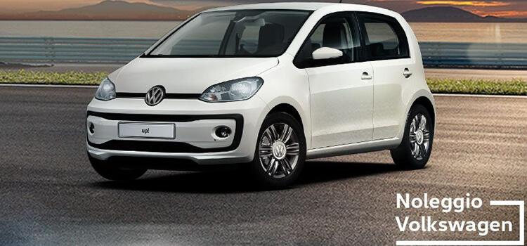 Volkswagen Up! in offerta a Noleggio lungo termine a € 179 al mese con tutto incluso