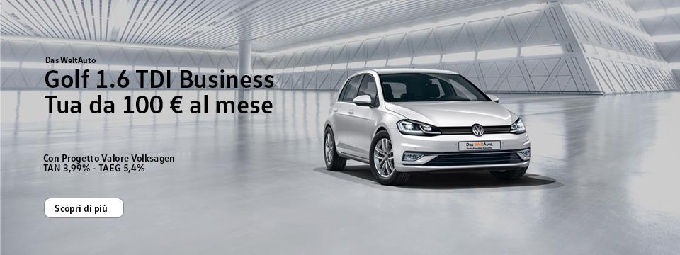 Golf 1.6 TDI Business - Usato Das WeltAuto