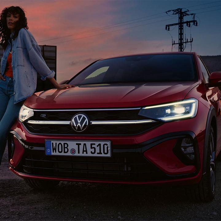 Taigo, il Crossover sportivo Volkswagen.