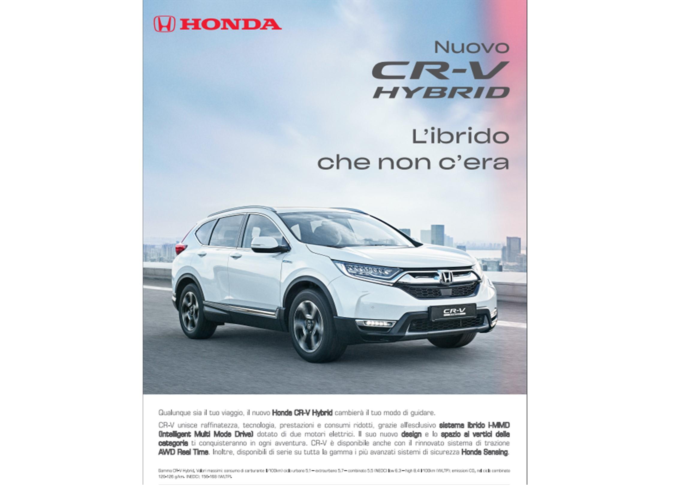 Scopri Nuovo Cr-v Hybrid