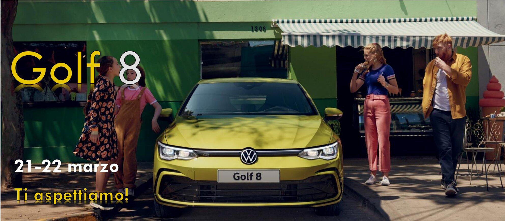Presentazione Golf 8