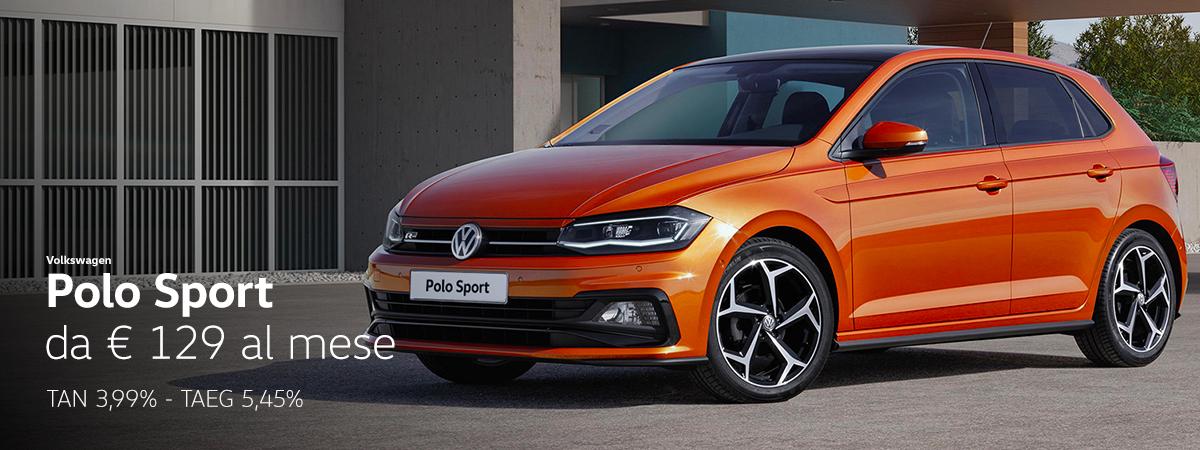Polo Sport tua a 129€/mese