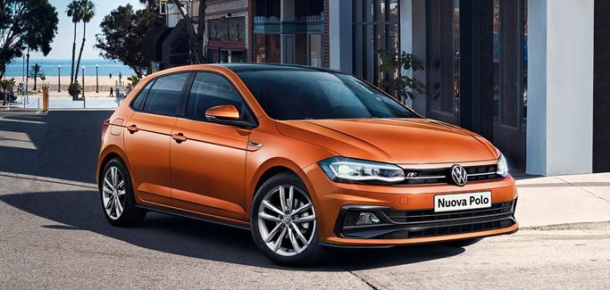 Volkswagen Polo 1.0 EVO 65 CV da €199 al mese