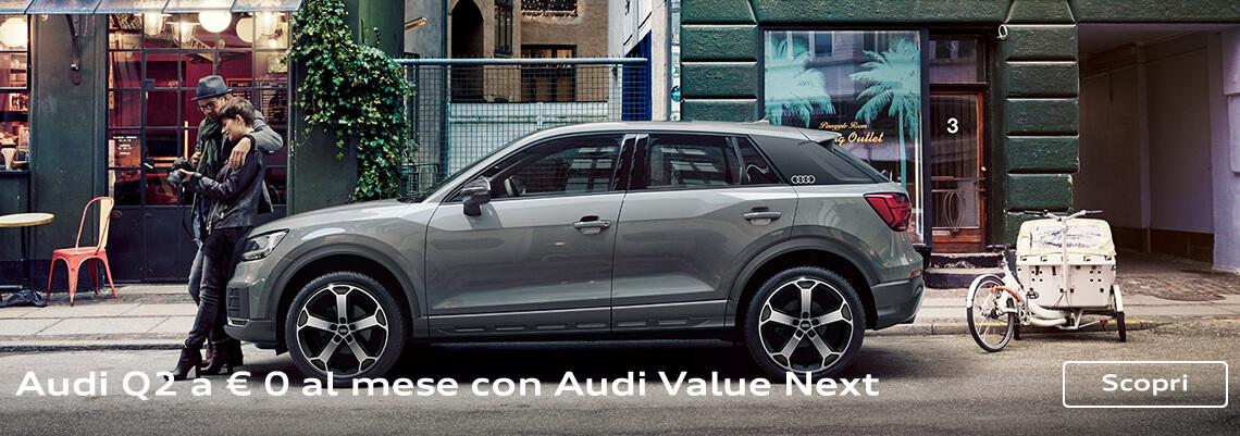 Audi Q2 da 249 euro al mese