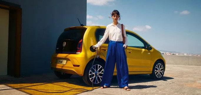 Nuova Volkswagen e-up da €79 al mese