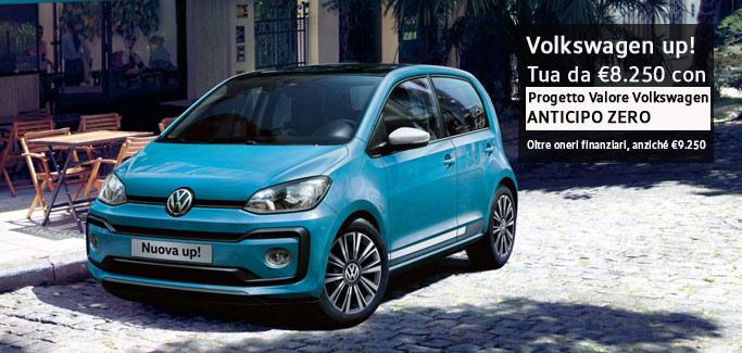 Promozione Volkswagen up! per Neopatentati a partire da €8.250