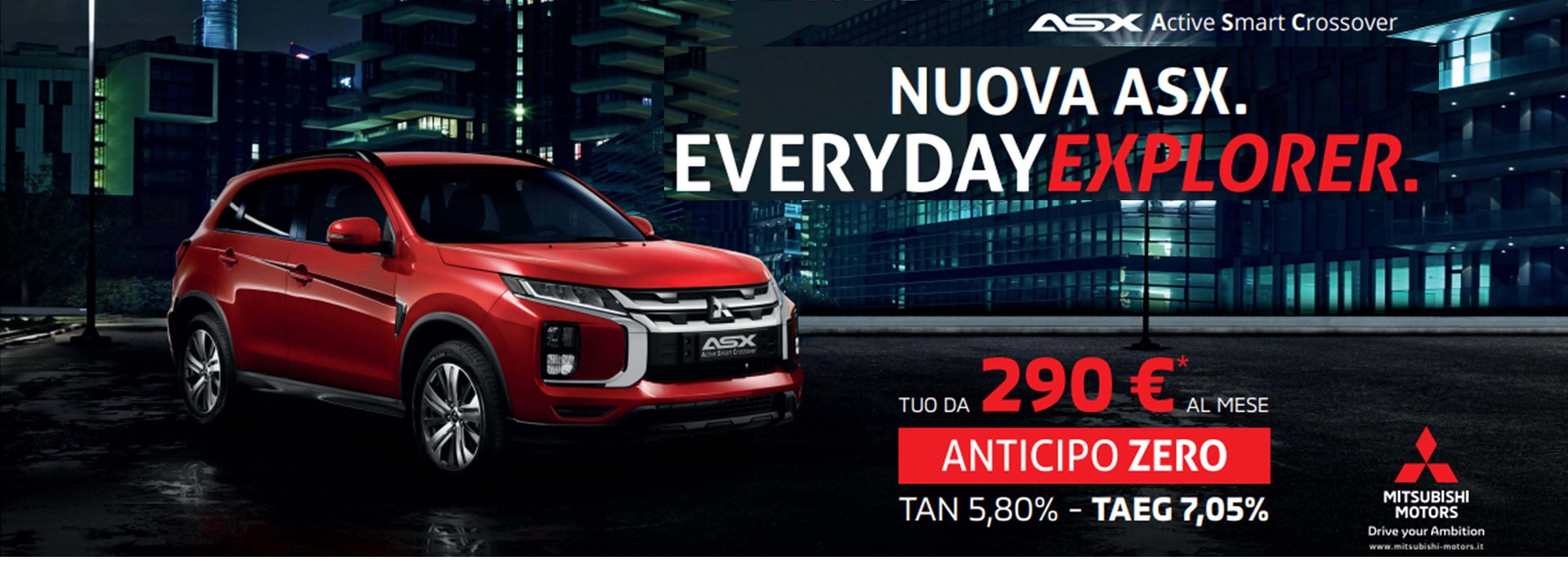 NUOVA MITSUBISHI ASX  DA 16.800€