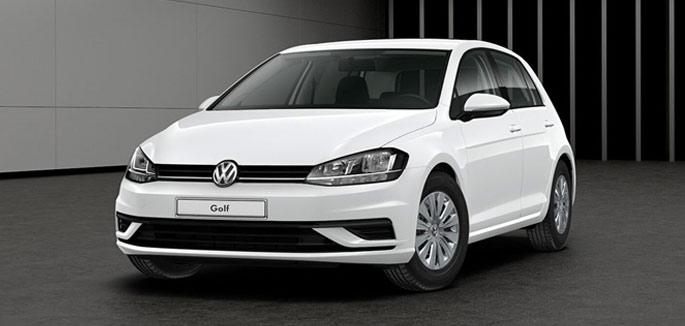 Volkswagen Golf 1.0 TSI Trendline tua da €163 al mese