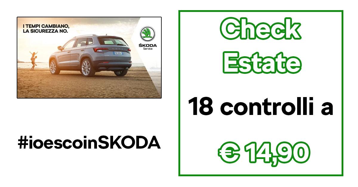 Check #ioescoinSkoda