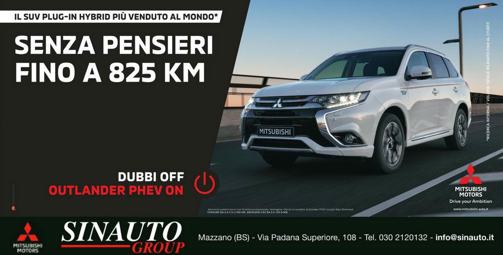 Scopri Mitsubishi Outlander Phev Hybrid!