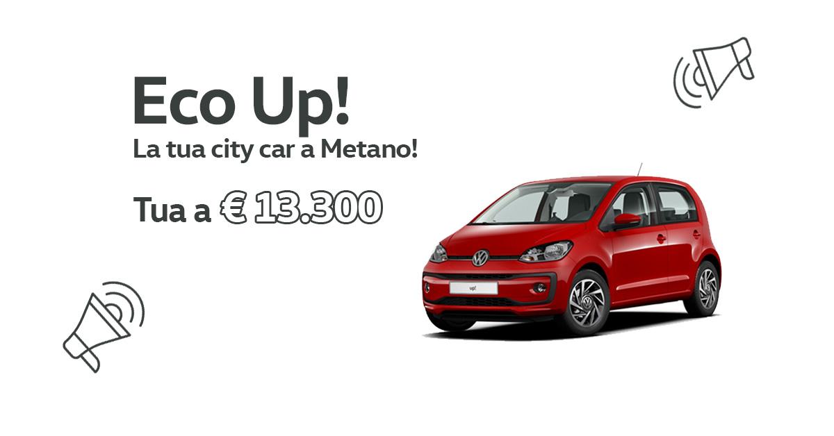 Eco Up! la tua city car a metano!