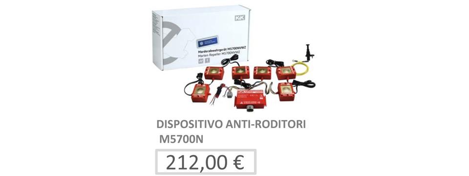 Impianto di protezione antiroditori (elettrotecnico)