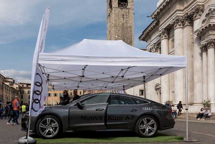 7-8 aprile 2018 - Presentata la Nuova Audi A7 durante lo Street Golf di Brescia!