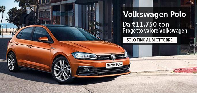 Promozione Volkswagen Polo per Neopatentati a partire da €11.750