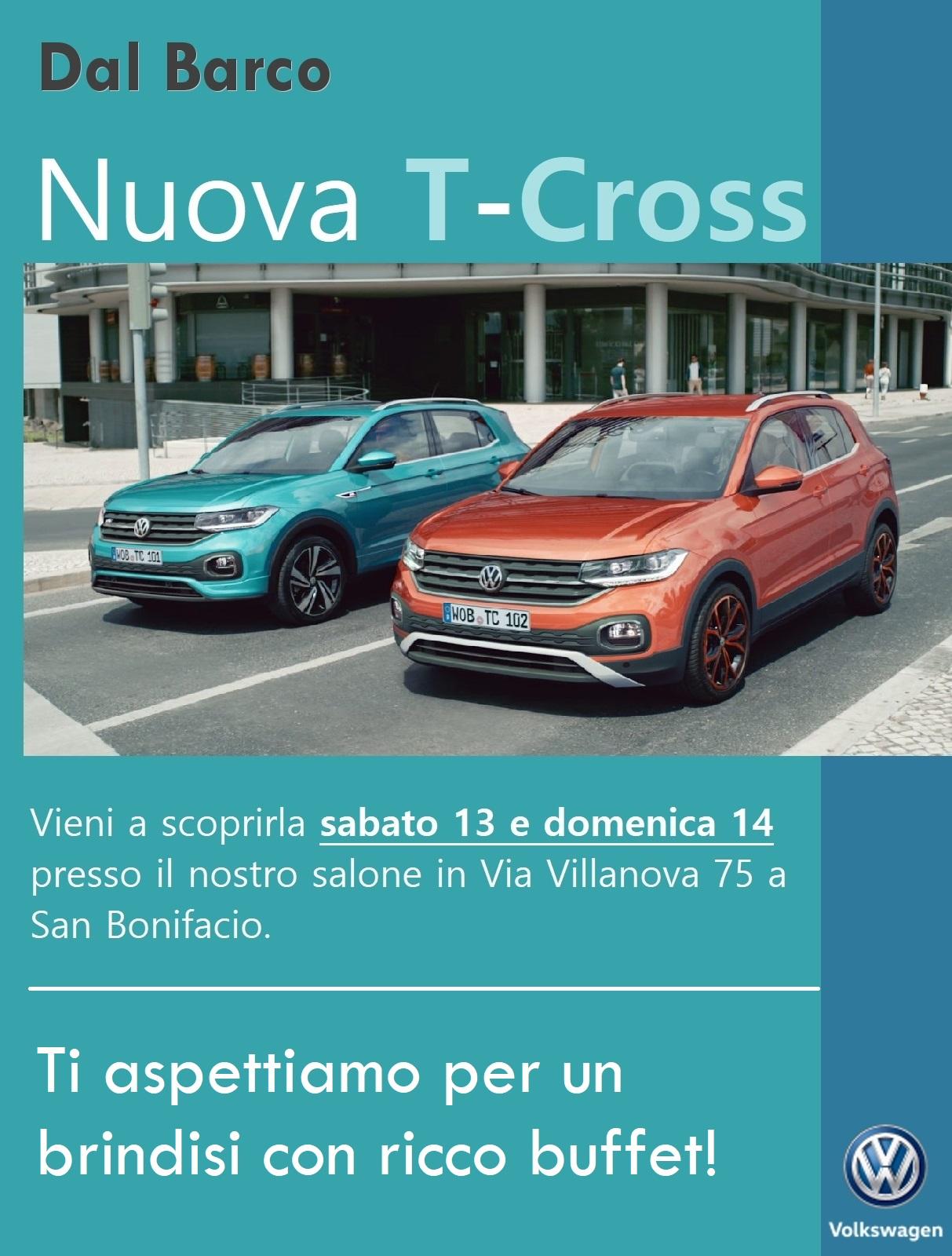 Presentazione nuova Volkswagen T-Cross