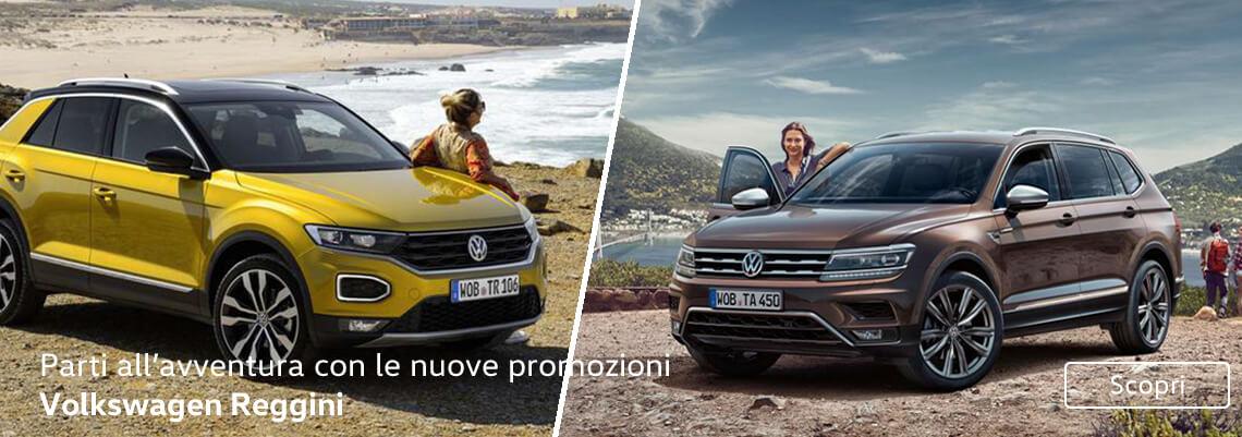 Parti all'avventura con le nuove promozioni Volkswagen Reggini
