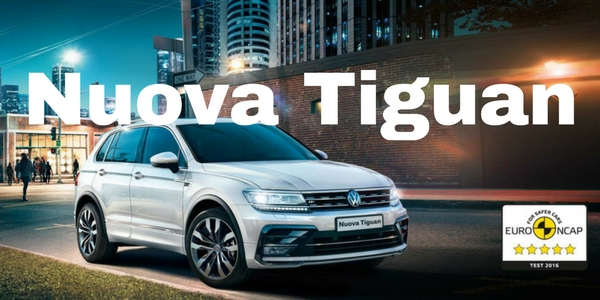 Nuova Tiguan 1.6 TDI Sport da 249€ al mese
