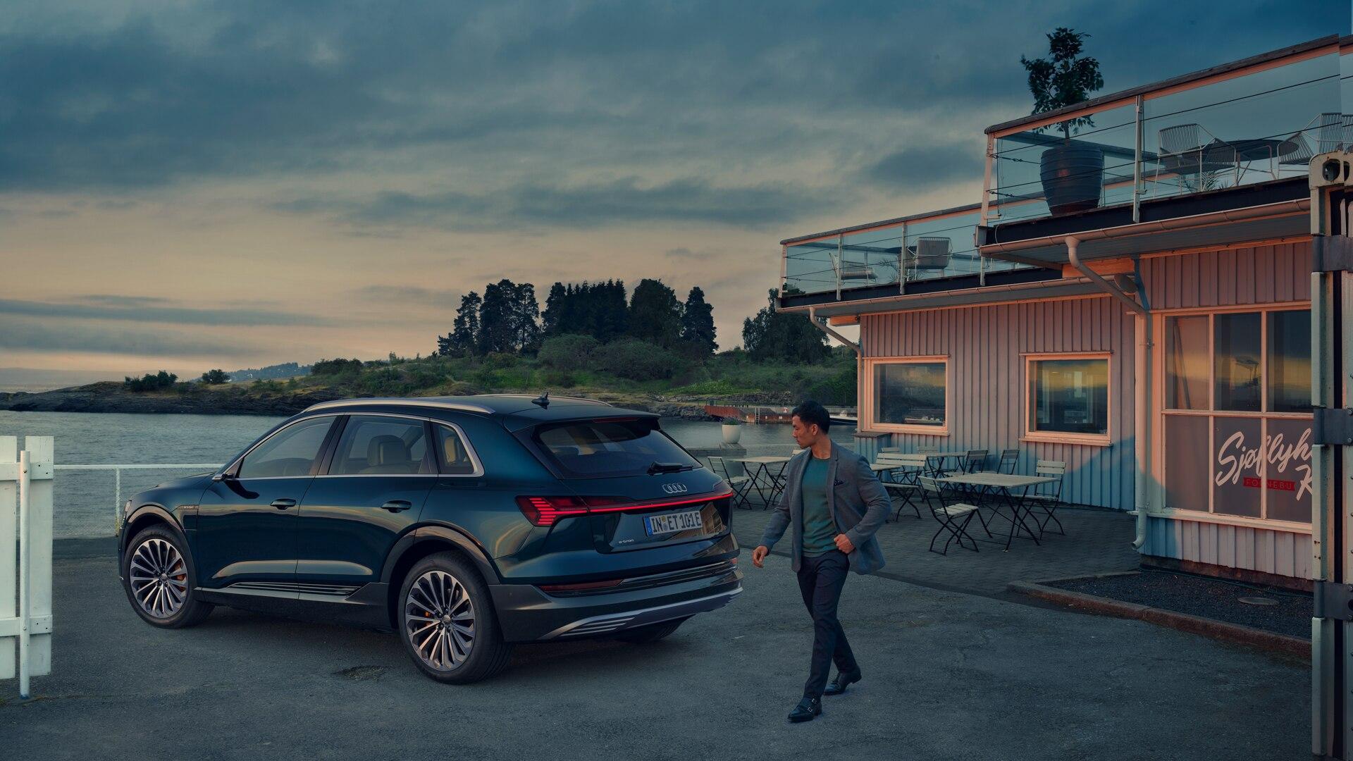 Audi E-Tron ti aspetta