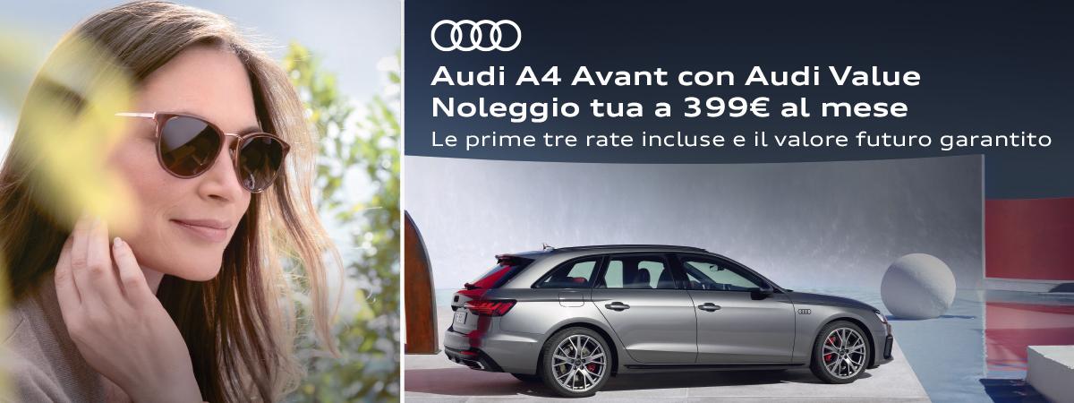 Mandolini Audi - A4 Avant Noleggio