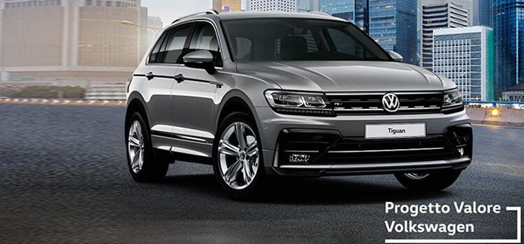 Volkswagen Tiguan! in offerta da € 249 al mese con progetto valore volkswagen.