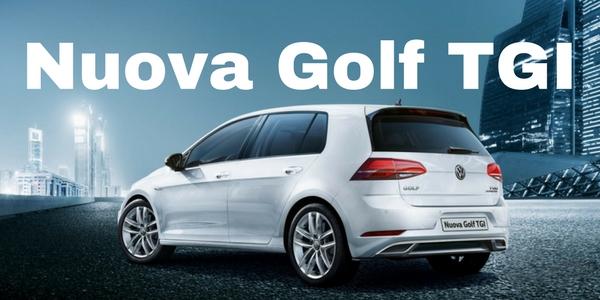 Nuova Golf TGI a metano allo stesso prezzo del benzina!