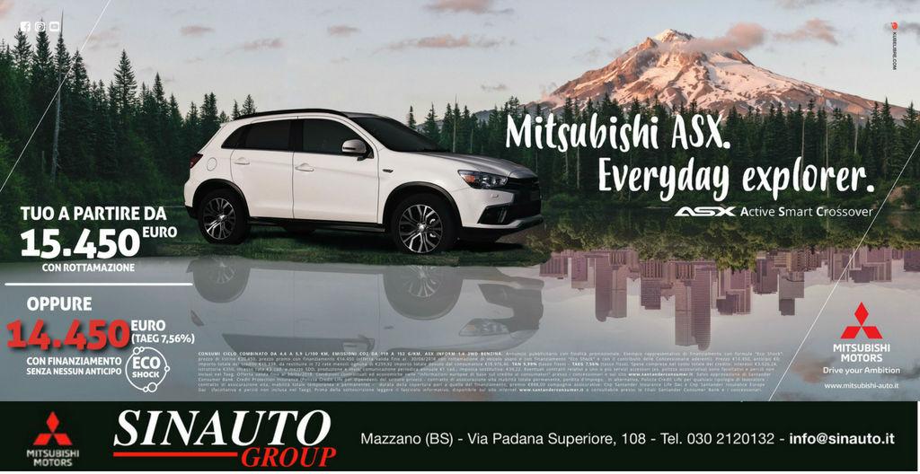 Scopri Mitsubishi Asx!