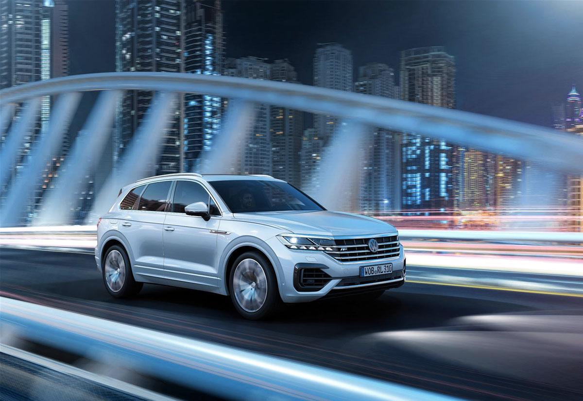 Volkswagen Touareg con Night Vision